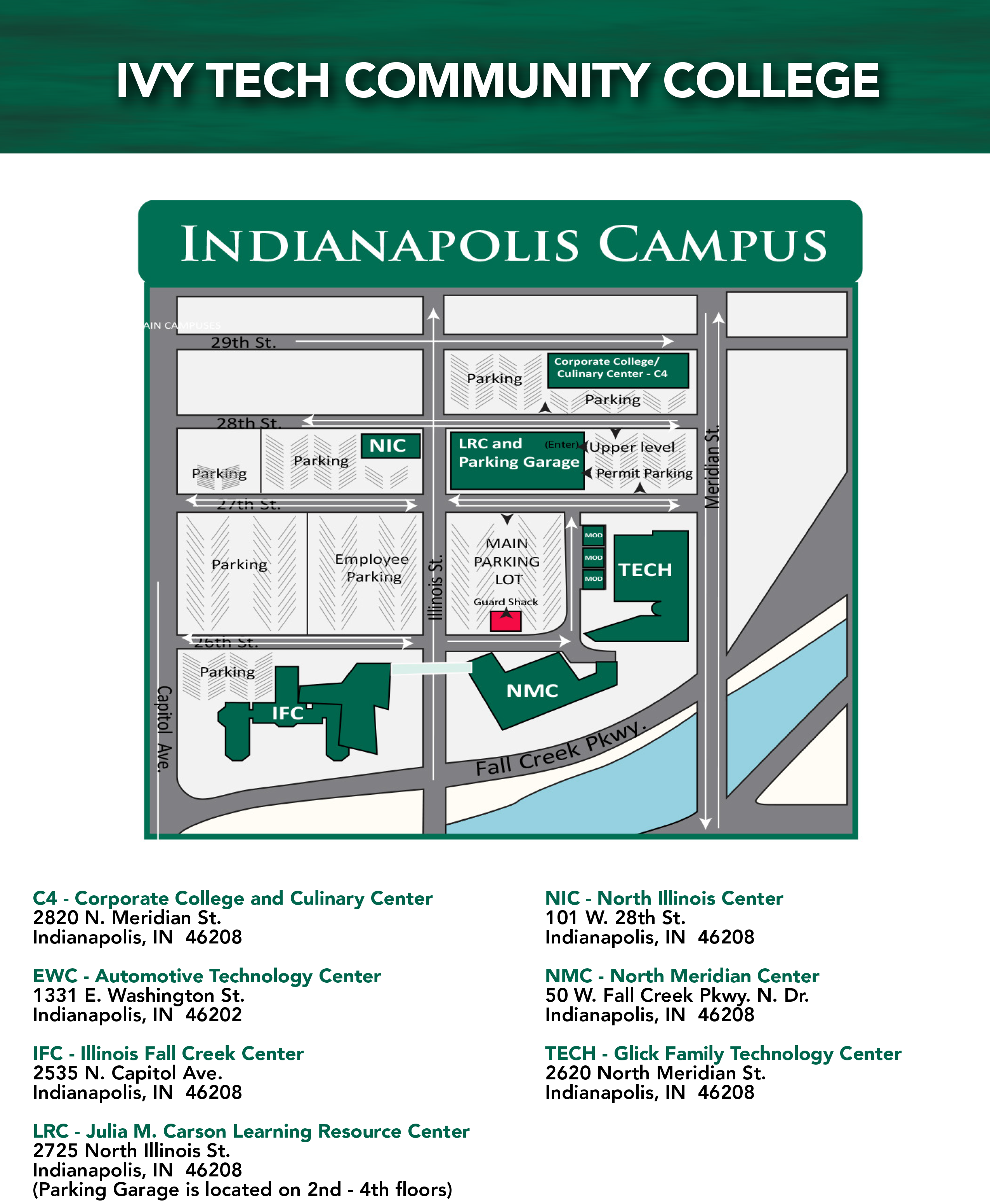 Meridian Community College Campus Map.Facility Details Ivy Tech Community College Of Indiana