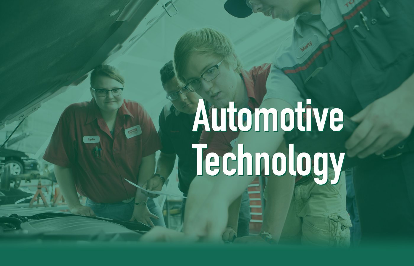 HANDS-ON TRAINING IN AUTOMOTIVE TECHNOLOGY!