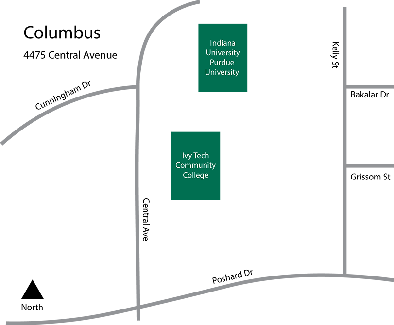 Columbus Campus Map