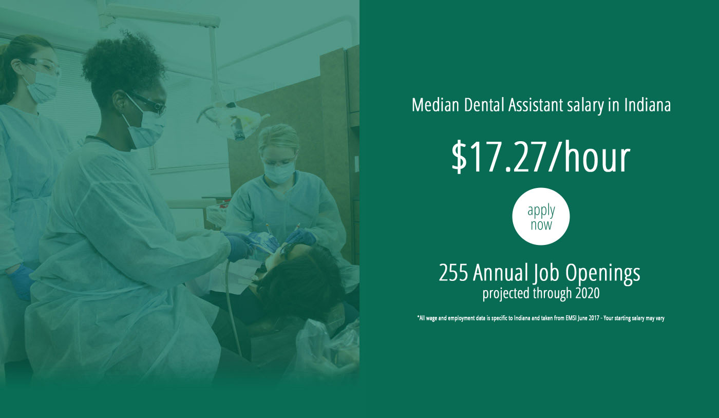 Dental assisting ivy tech community college of indiana the dental assisting program at ivy tech is the only one in the state of indiana where graduates can earn five workforce certifications and one license 1betcityfo Choice Image