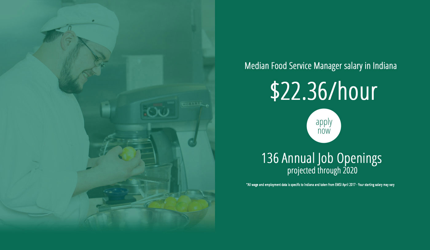 hospitality administration ivy tech community college of na while our program remains 1 4 the cost of other culinary schools in the region we offer the same hands on learning and are nationally accredited by the