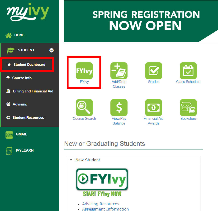 FYIvy - Ivy Tech Community College of Indiana