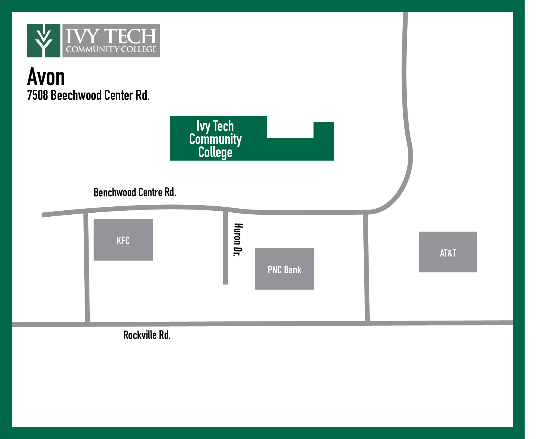 Ivy Tech avon campus map