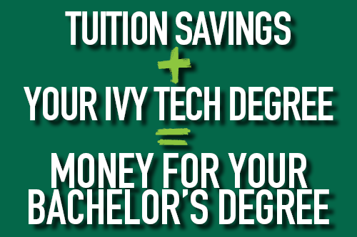 IVY TECH cash for completion