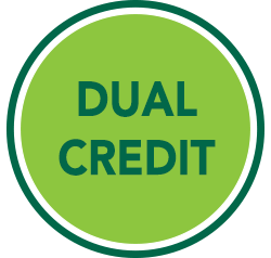 are you currently a high school student wanting to get a jump start on college by earning college credits through our dual credit program