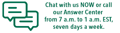 Chat with us live at IvyTech.edu/chat. Or call our Answer Center at 888-IVY-LINE (888-489-5463) from 7 a.m. to 1 a.m. EST, seven days a week.