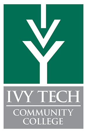 Ivy Tech Color Vertical Logo White Background