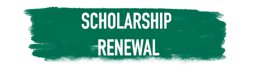 Shelby Advantage scholarship renewal